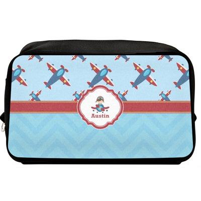 Airplane Theme Toiletry Bag / Dopp Kit (Personalized)