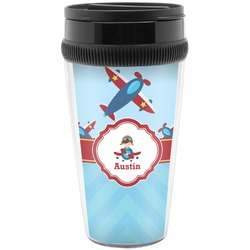 Airplane Theme Travel Mug (Personalized)