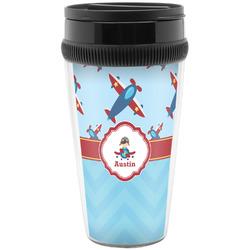 Airplane Theme Travel Mugs (Personalized)