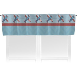 Airplane Theme Valance (Personalized)