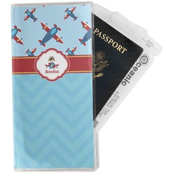 Airplane Theme Travel Document Holder