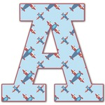 Airplane Theme Letter Decal - Custom Sizes (Personalized)