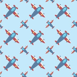 Airplane Theme Wallpaper & Surface Covering