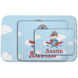 Airplane & Pilot Area Rug (Personalized)