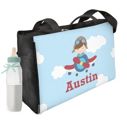 Airplane & Pilot Diaper Bag (Personalized)