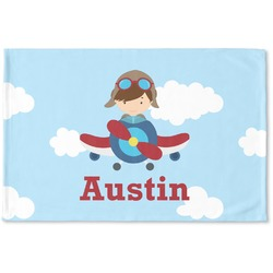 Airplane & Pilot Woven Mat (Personalized)