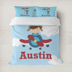 Airplane & Pilot Duvet Covers (Personalized)