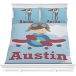 Airplane & Pilot Comforter Set (Personalized)