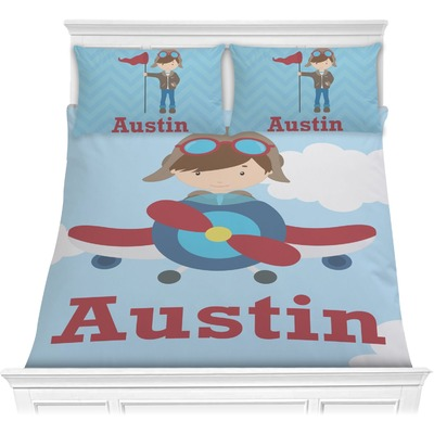 Airplane & Pilot Comforters (Personalized)