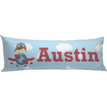 Airplane & Pilot Body Pillow Case (Personalized)