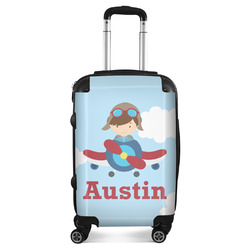 Airplane & Pilot Suitcase (Personalized)