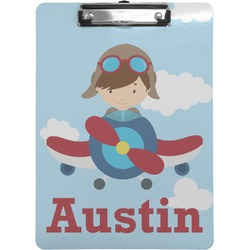 Airplane & Pilot Clipboard (Personalized)