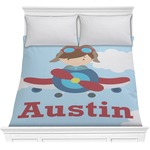 Airplane & Pilot Comforter (Personalized)