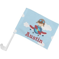 Airplane & Pilot Car Flag (Personalized)