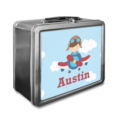 Airplane & Pilot Lunch Box (Personalized)