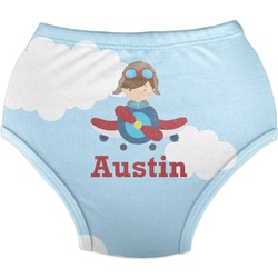 Airplane & Pilot Diaper Cover (Personalized)