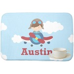 Airplane & Pilot Dish Drying Mat (Personalized)