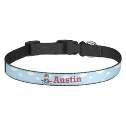 Airplane & Pilot Dog Collar (Personalized)