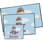 Airplane & Pilot Door Mat (Personalized)