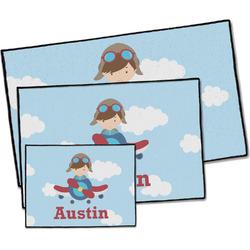 Airplane & Pilot Door Mat (Personalized)