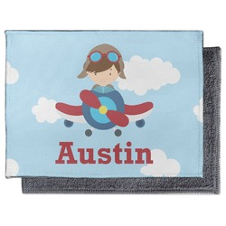 Airplane & Pilot Microfiber Screen Cleaner (Personalized)