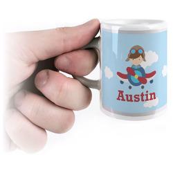 Airplane & Pilot Espresso Cups (Personalized)