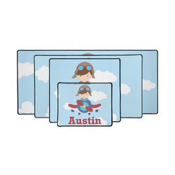 Airplane & Pilot Gaming Mouse Pad (Personalized)