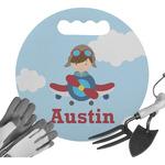 Airplane & Pilot Gardening Knee Cushion (Personalized)