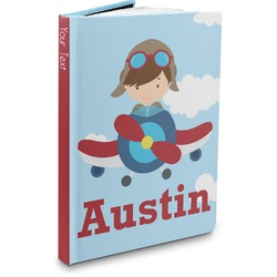 Airplane & Pilot Hardbound Journal (Personalized)