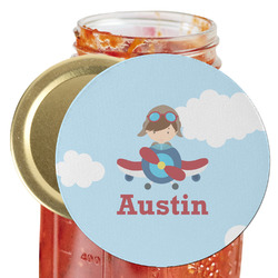 Airplane & Pilot Jar Opener (Personalized)