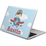 Airplane & Pilot Laptop Skin - Custom Sized (Personalized)