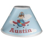 Airplane & Pilot Coolie Lamp Shade (Personalized)