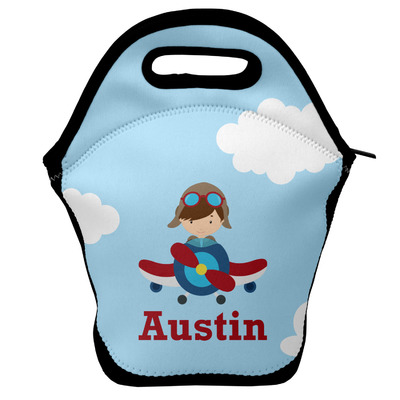 Airplane & Pilot Lunch Bag (Personalized)