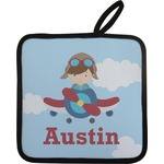 Airplane & Pilot Pot Holder (Personalized)
