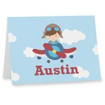 Airplane & Pilot Note cards (Personalized)
