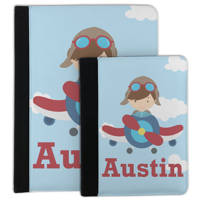Airplane & Pilot Padfolio Clipboard (Personalized)