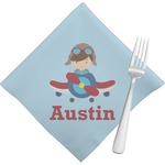 Airplane & Pilot Napkins (Set of 4) (Personalized)