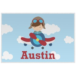 Airplane & Pilot Placemat (Laminated) (Personalized)
