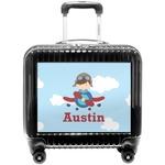 Airplane & Pilot Pilot / Flight Suitcase (Personalized)