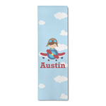 Airplane & Pilot Runner Rug - 3.66'x8' (Personalized)
