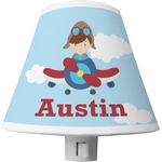 Airplane & Pilot Shade Night Light (Personalized)