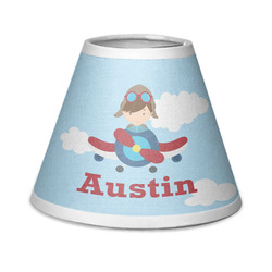 Airplane & Pilot Chandelier Lamp Shade (Personalized)