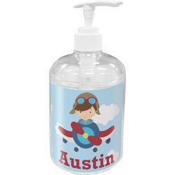 Airplane & Pilot Soap / Lotion Dispenser (Personalized)