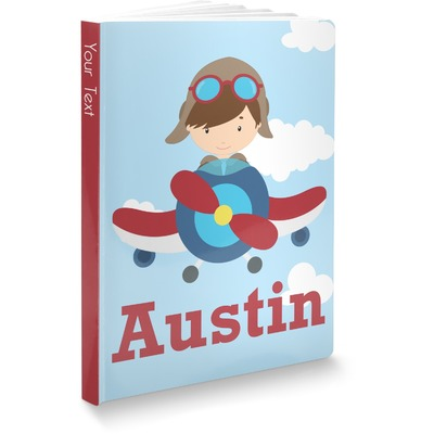 Airplane & Pilot Softbound Notebook (Personalized)