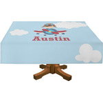 Airplane & Pilot Tablecloth (Personalized)