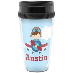 Airplane & Pilot Travel Mugs (Personalized)