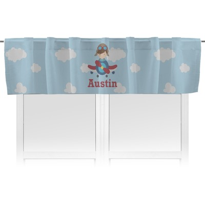 Airplane & Pilot Valance (Personalized)