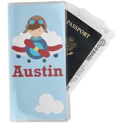 Airplane & Pilot Travel Document Holder