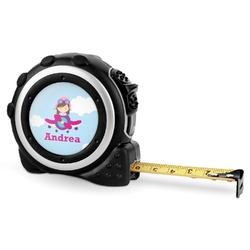 Airplane & Girl Pilot Tape Measure - 16 Ft (Personalized)