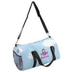 Airplane & Girl Pilot Duffel Bag - Multiple Sizes (Personalized)